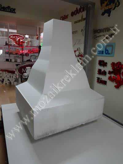 3D Köpük Strafor Kesim