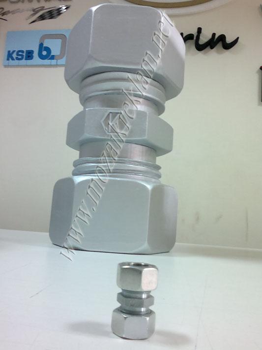 3D Strafor Kesim Yaldızlı